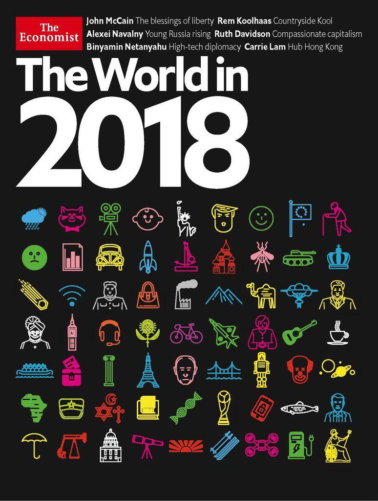 Эксперт расшифровал обложку-загадку The Economist на 2018 год 24314650