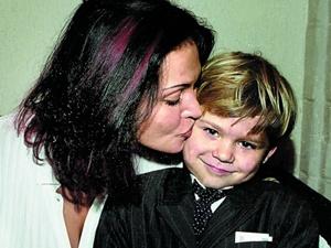 Лагода с сыном Дмитрием.
