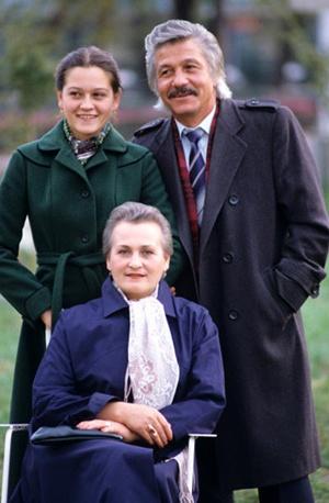Михай Волонтир с семьей.