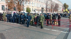 Правоохранители готовятся к агрессивному шествию, которое было в прошлом году. Фото: pravda.com.ua