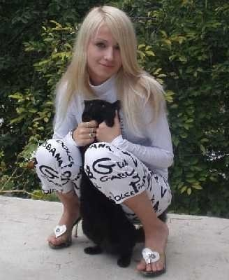 Обычная девчонка. Правда котов не любит.  Фото: vk.com/taki_da_odessa