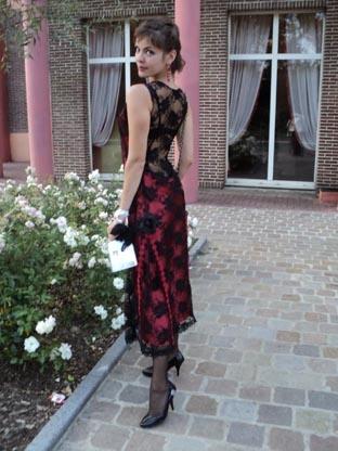 Это платье покорило судей. Фото: из личного архива В. Мотричко.