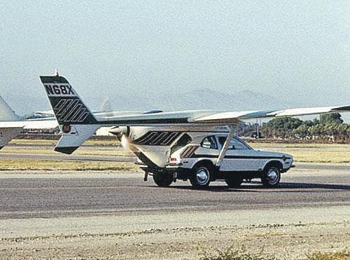 Летающий автомобиль. Фото: commons.wikimedia.org.