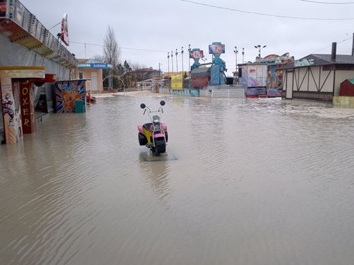 Уровень воды составил десять сантиметров. Фото: vk.com