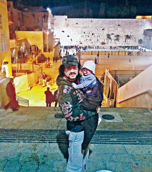 В Израиле Филипп с дочерью провел четыре дня. Фото: из личного архива.