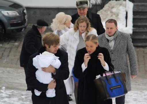 Осадчая стала крестной мамой. Автор фото: facebook.com