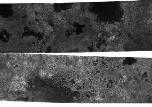 Озера Титана - как в Карелии Фото: НАСА