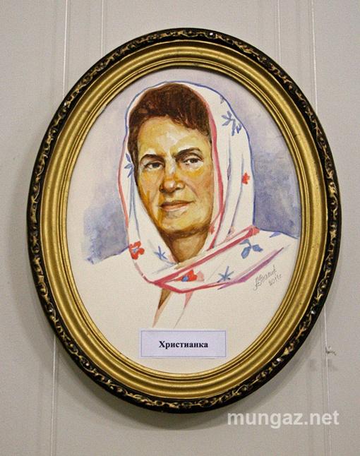 На полотне Первая леди не подписана, но узнаваема. Фото