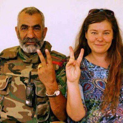 Анхар и генерал. Фото Facebook.com