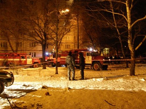 На месте ЧП работали все подразделения МЧС Харькова