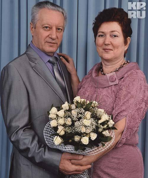 Валентина Николаевна и Сергей Епифанович - теперь муж и жена. Официально. Фото: из семейного архива