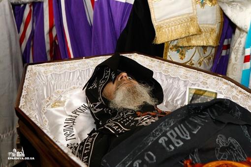 В Одессе попрощались со старцем Ионой. Фото eparhiya.od.ua