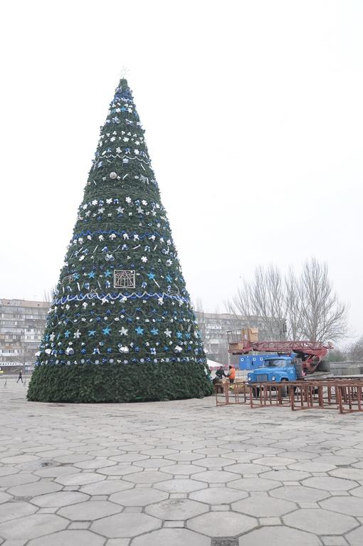 Запорожская симметрическая елочка. Фото Павла ВЕСЕЛКОВА