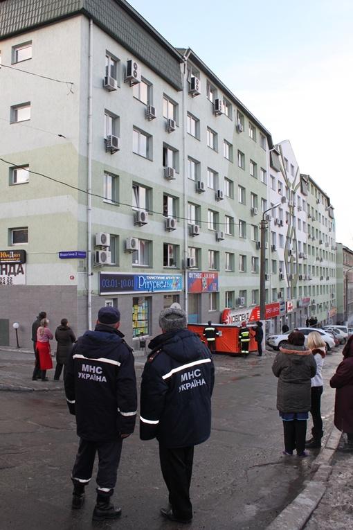 Спасательная операция закончилась благополучно. Фото Татьяны МЕШКО.