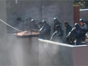 Штурм банды в Одессе. Фото: Думская.net