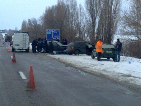 ДТП произошло на 84-м километре трассы в направлении Киева. Фото: nbnews.com.ua.