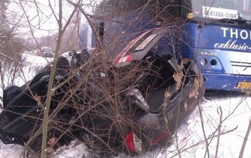 У людей в авто не было шансов выжить...Фото: пресс-служба ГАИ МВД Украины.