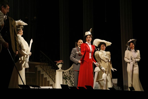 "По мотивам пьесы Бернанда Шоу  ""Пигмалион "" в 1956...  Схема зала.  12 Декабря 2013.  Театр Оперетты."