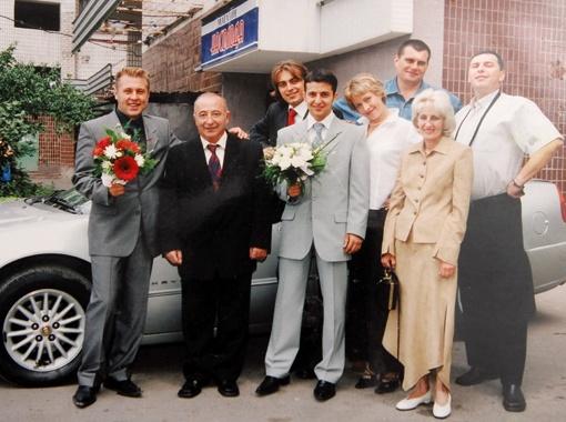 Мама юбиляра Зеленского Римма Владимировна: