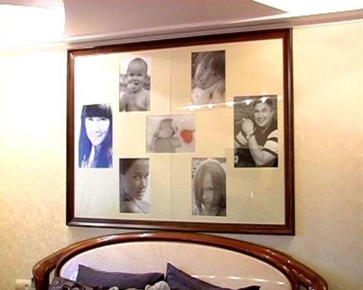 Семь фото над кроватью. Фото: pomestye.crimea.ua