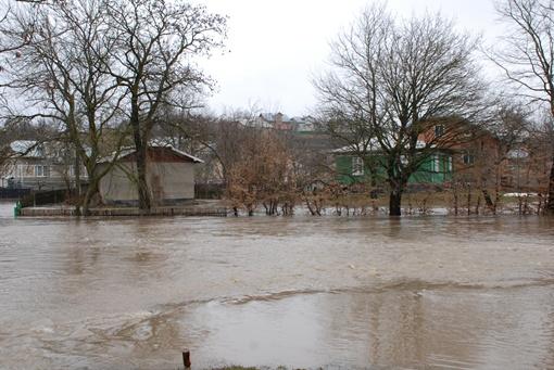 В области реки вышли из берегов. Фото ГУ ГСЧС в Ивано-Франковской области