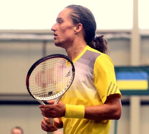 Александр Долгополов возрождает интригу в матче. Фото Павла ДАЦКОВСКОГО