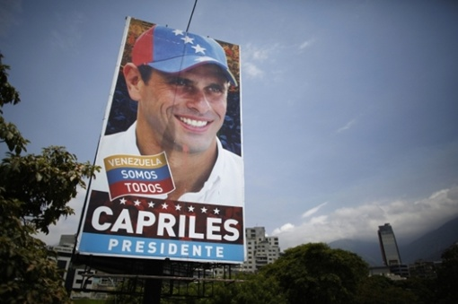 Основная борьба на выборах развернется между исполняющим обязанности президента Николасом Мадуро и лидером оппозиции Энрике Каприлесом.  Фото: REUTERS