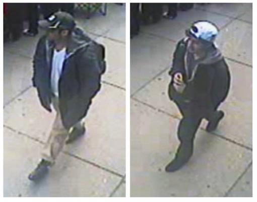 Двое подозреваемых в организации теракта в Бостоне. Фото: REUTERS