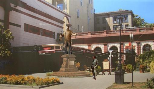 По проекту памятник находится среди зелени. Фото: страница мэра на Facebook