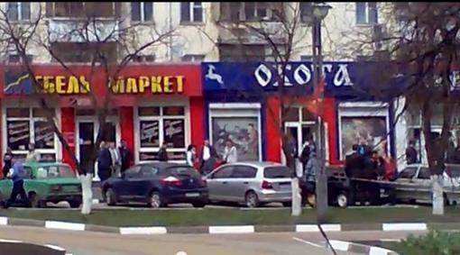 Оружие стрелявший украл в магазине охотничьих принадлежностей Фото: Кадр с видео