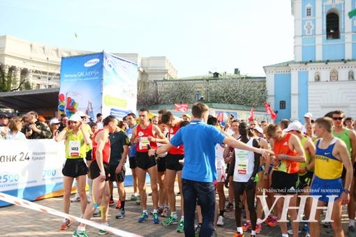 В столице стартовал IV Киевский международный марафон. Фото:  unn.com.ua