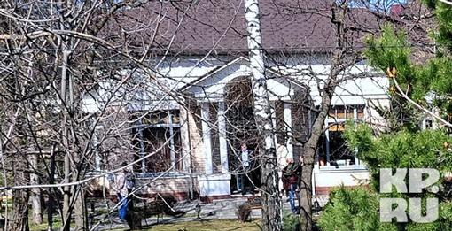Дом балерины Анастасии Волочковой, куда ночью нагрянули воры. Фото: Сергей ШАХИДЖАНЯН