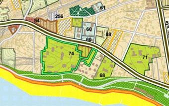 В документе указано, что на трех гектарах парка Горького также вырастет некий объект.