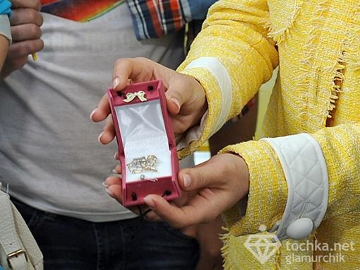 Талисман для Златы от фан-клуба, фото: tochka.net