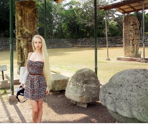 Лукьянова съездила в Гондурас. Фото: vk.com/amatue