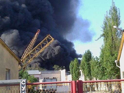 Все вокруг затянуто дымом. Фото пользователя Kyg1 с сайта forum.autoua.net.