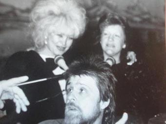 Муж Константин, Татьяна Боева и подруга Аза Бережная. Фото: архив