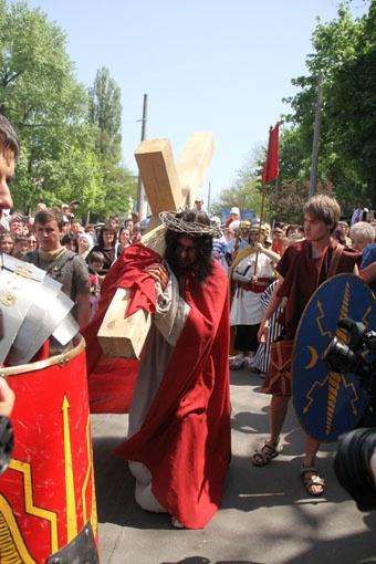 Одесситам показали события, предшествовавшие казни Иисуса.
