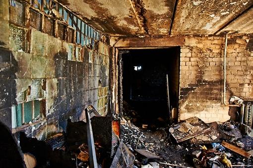 Большинство квартир в общежитии пострадали от воды. Фото: сайт Харьковского горсовета