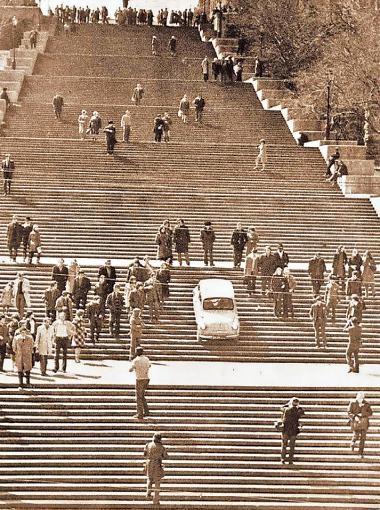 Спуск таксиста. Фото из архивов.