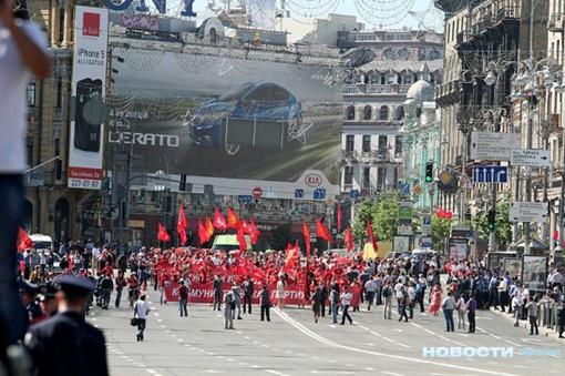Украина массово отметила День Победы.