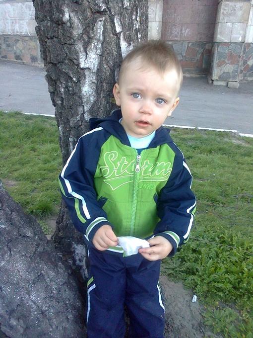 Двухлетний малыш был долгожданным ребенком. Фото: автор и из личного архива семьи Кравченко.