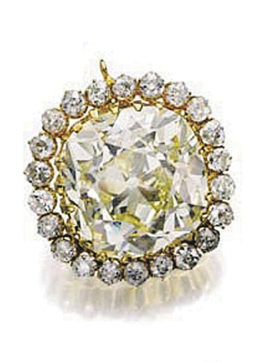 Так выглядит желтый бриллиант весом в 74,53 карата, установивший новый ценовой рекорд. Фото: sothebys.com.
