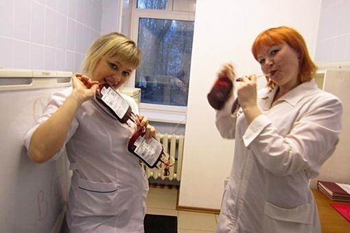 подно фото медсестер