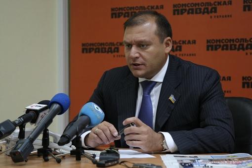 Михаил Добкин, глава областной госадминистрации.