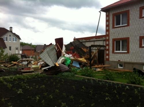 Последствия для города оказались катастрофическими Фото: фото с сайта efremov-town.ru