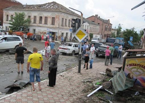 Движение на дорогах было затруднено Фото: Efremov-Town
