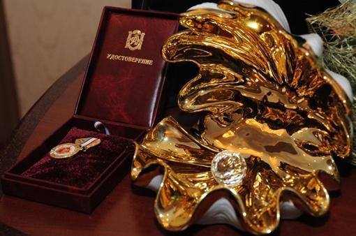 Статуэтка в виде жемчужины – символа Крымского полуострова. Фото: Виталий ПАРУБОВ.