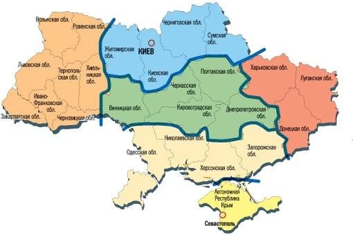 Метеокарта Украины: так