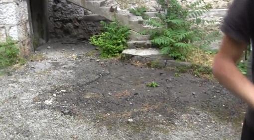 На этом месте разбилась Диана Сидельник. Фото: стоп-кадр из видео